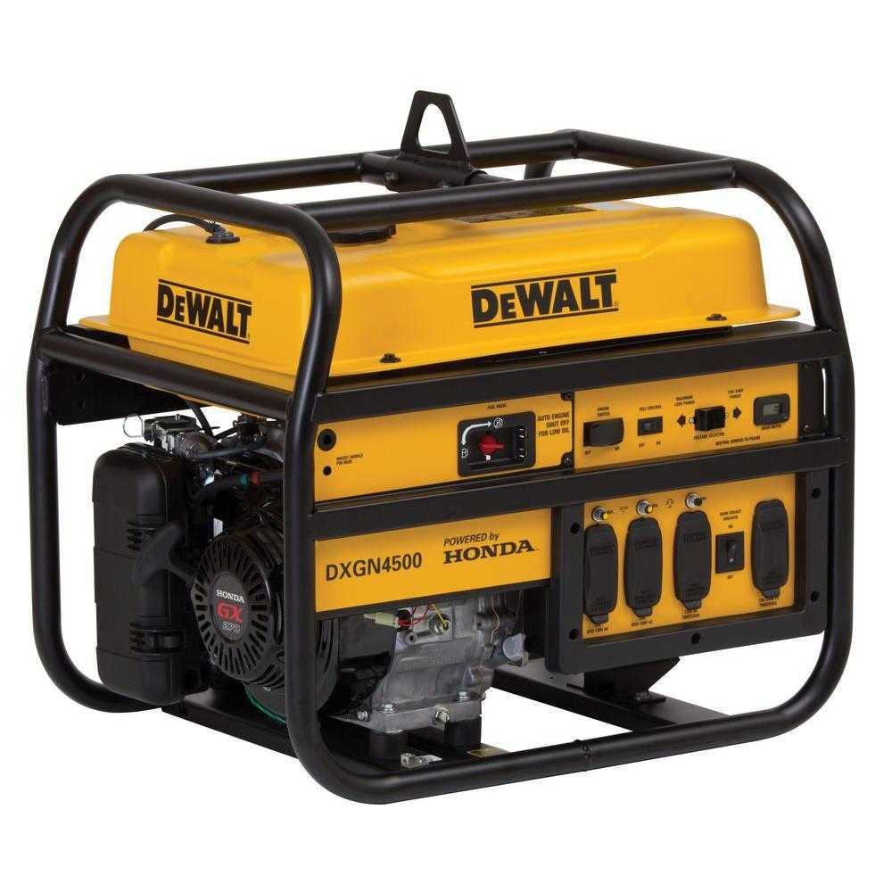 Shop IPS(DEWALT)GAS GENERATOR 4500W | Power Tools