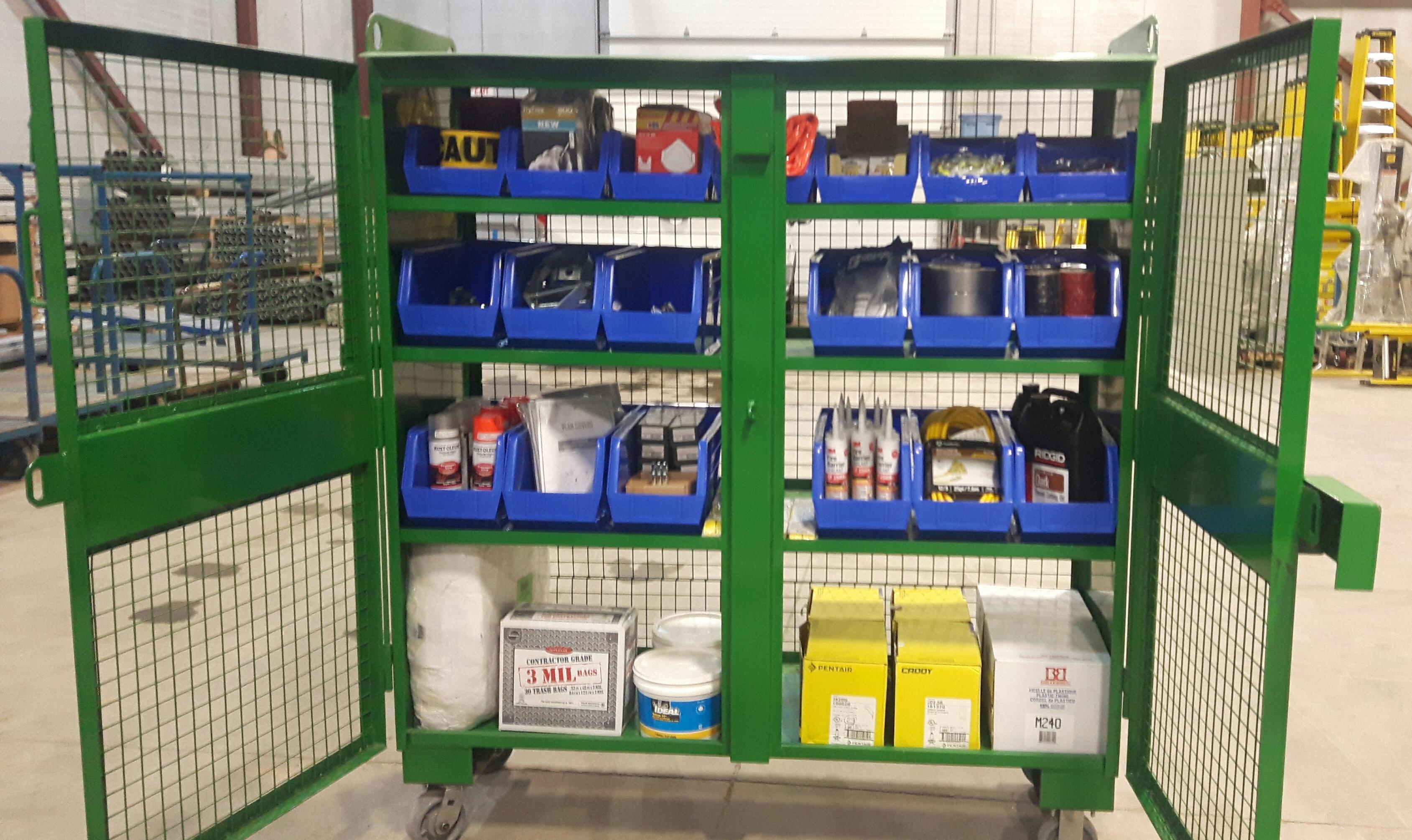 kelly kabinet inventory system