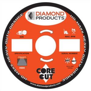 diamond blade, saw, diamond product