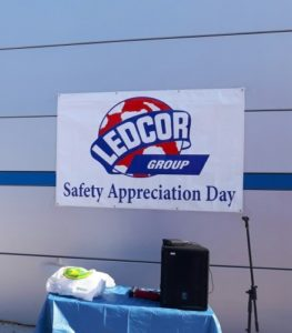 Ledcore Safety Appreciation Week at Fastening House