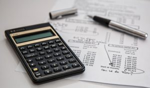 Budgeting and Finance in Calculator and worksheet
